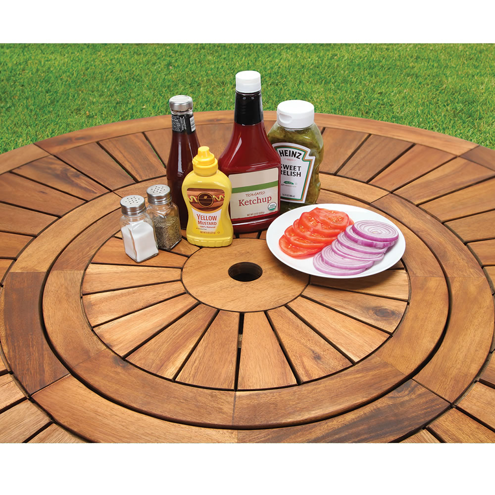 Superior The Lazy Susan Outdoor Table Set
