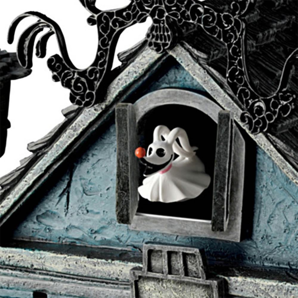 the nightmare before christmas cuckoo clock hammacher schlemmer