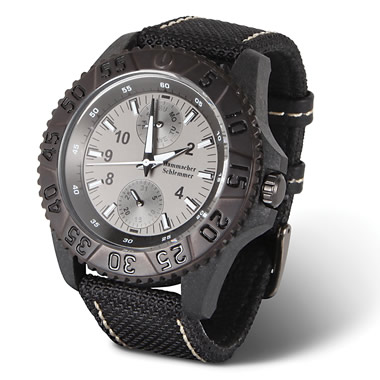 The Carbon Fiber Calendar Watch.
