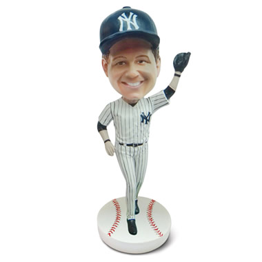The Personalized Fantasy Sports Caricature Bobblehead