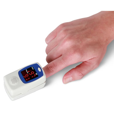 The Talking Fingertip Heart Rate Monitor