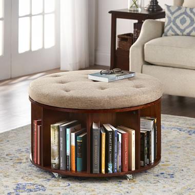 Bookcase Ottoman