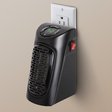 The Wall Outlet Personal Space Heater