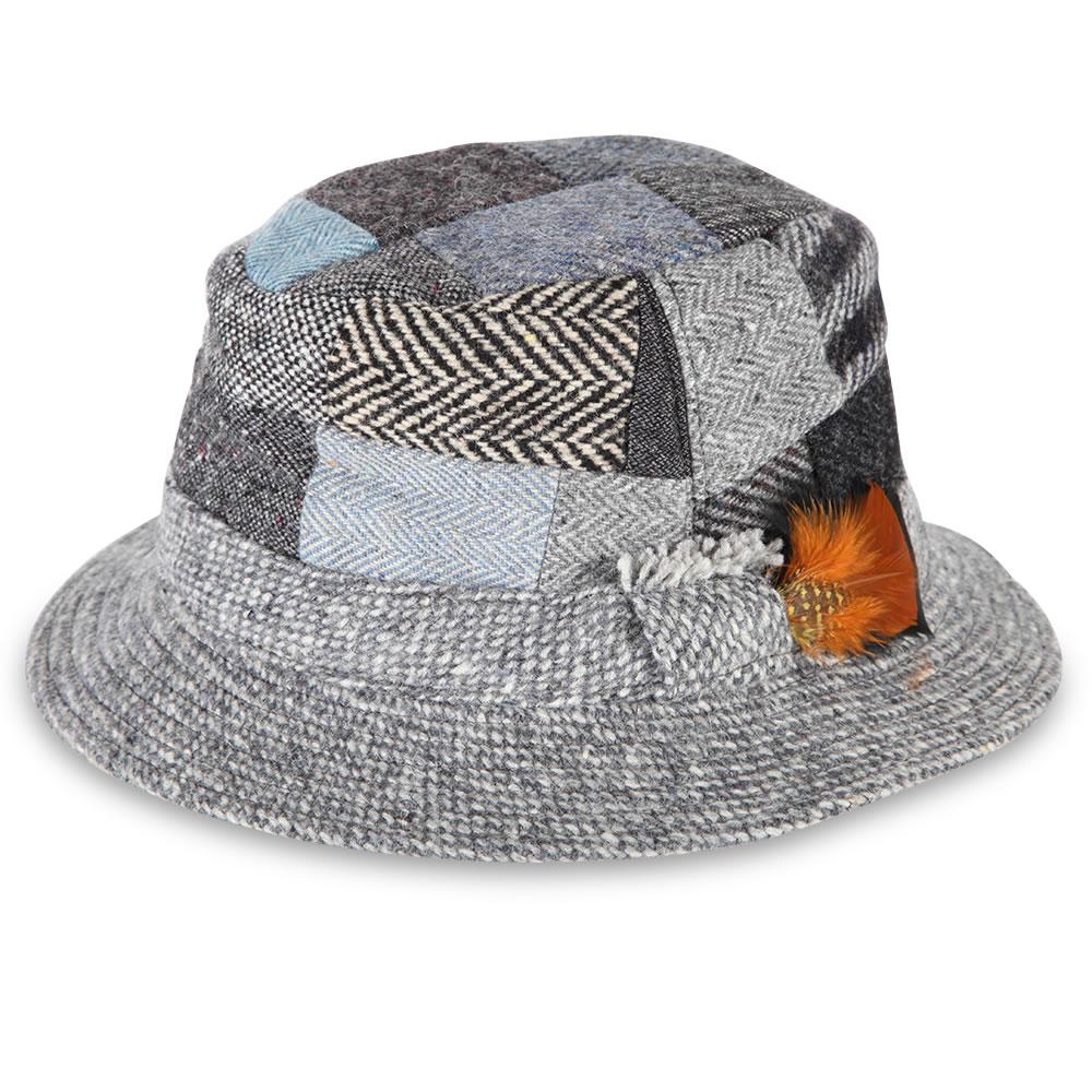 31f18748c65f3 The Irish Patchwork Walking Hat - Hammacher Schlemmer