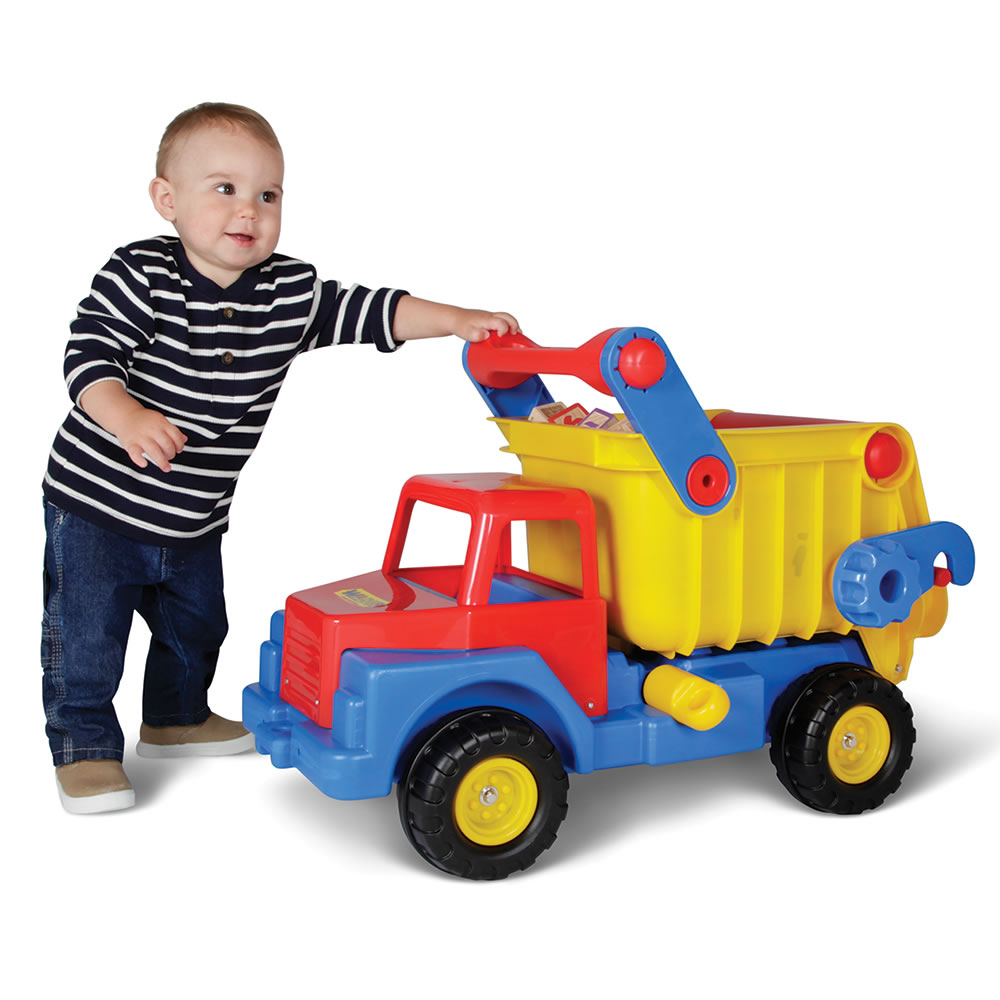 the award winning dump truck hammacher schlemmer