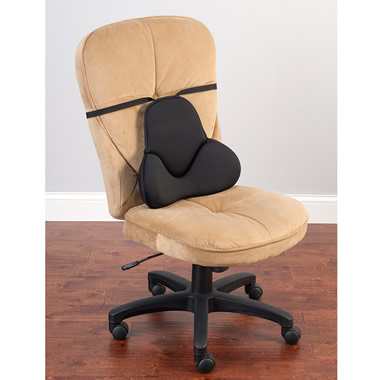 The Pain Relieving Lumbar Cushion.