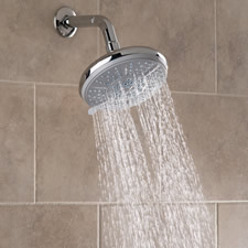 The Superior Pressure Boosting Multi-Spray Showerhead
