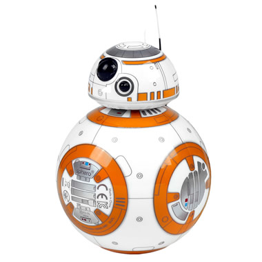 The Star Wars BB-8 Hologram Projecting Droid
