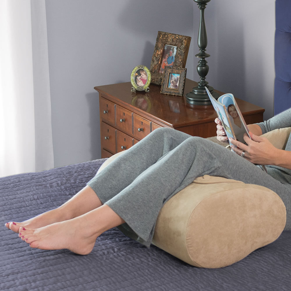 The Superior Comfort Knee Pillow Hammacher Schlemmer