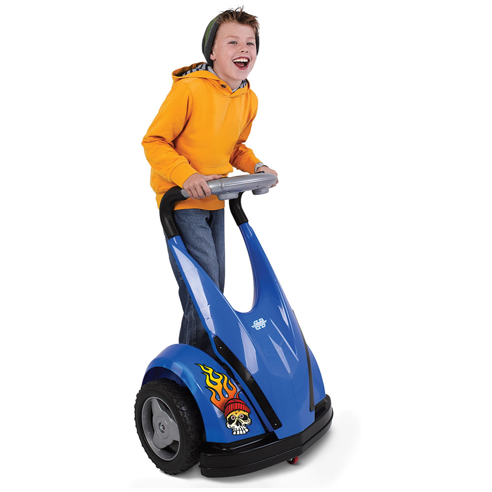 The Child S Motorized Personal Transporter Blue
