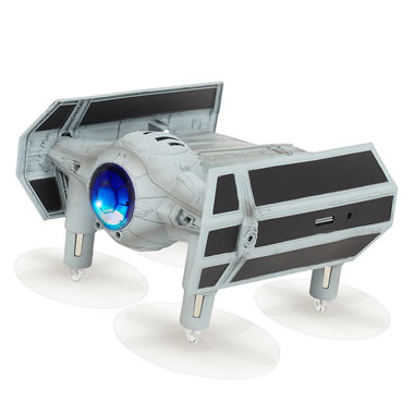 The Star Wars TIE Advanced X1 Space Drone/Game