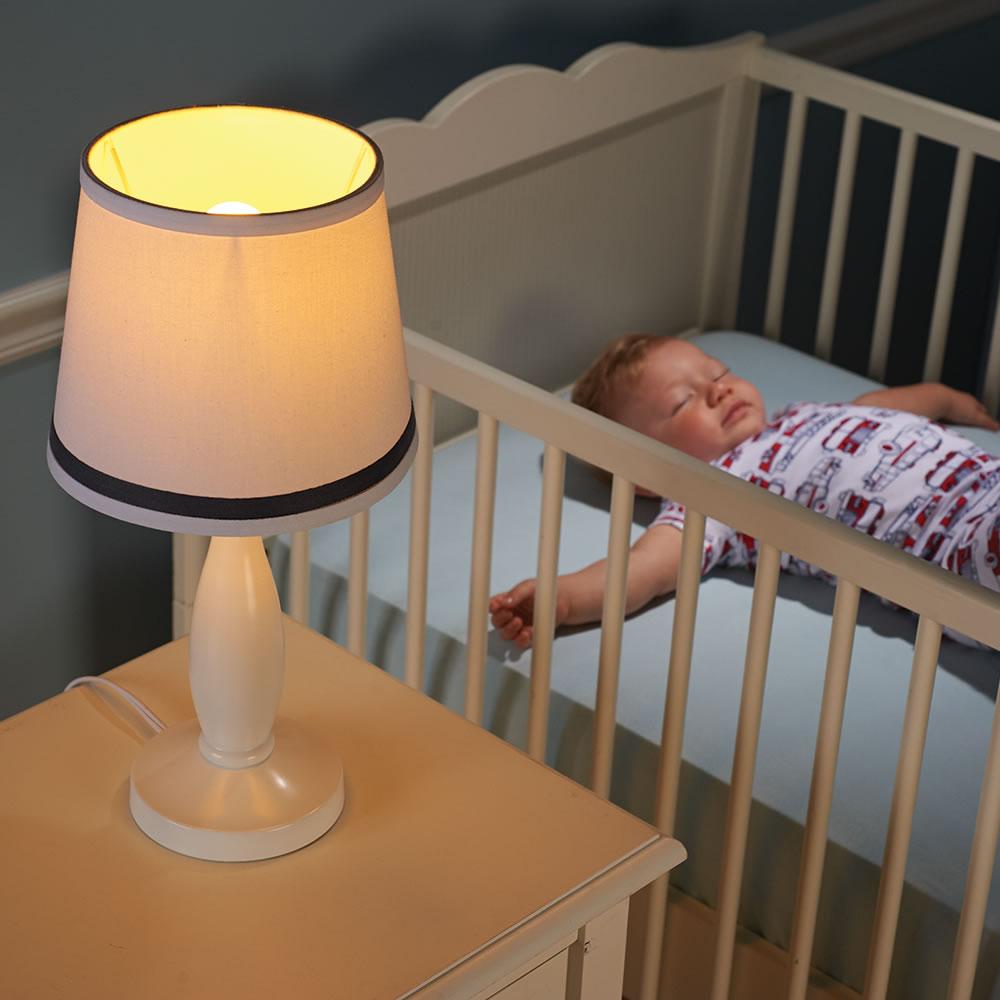 The Sleep Promoting Nursery Soft Light Hammacher Schlemmer