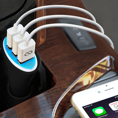 The Rapid Car iPhone Charger