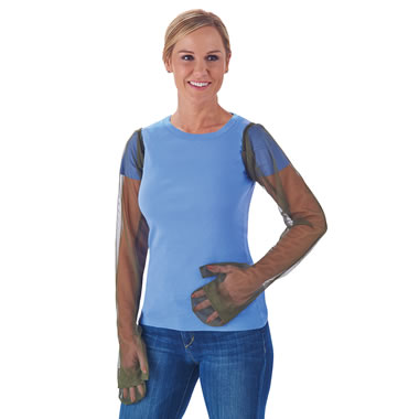 The Mosquito Netting Sleeves