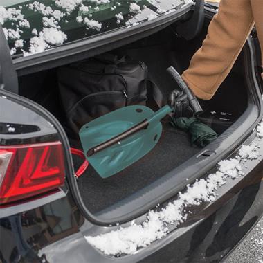 The Emergency Metal Snow Shovel