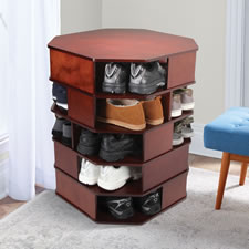 The 15-Pair Large Footwear Turntower
