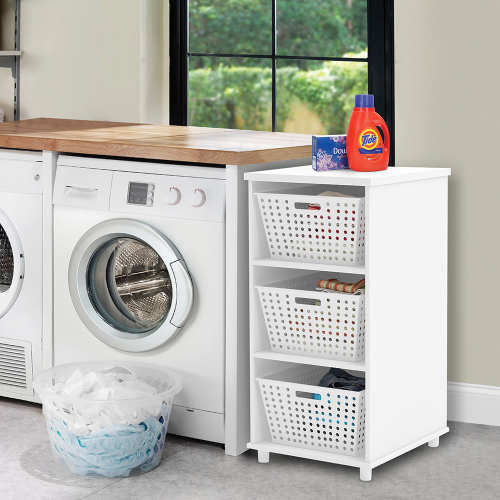 The Tight Space Laundry Organizer