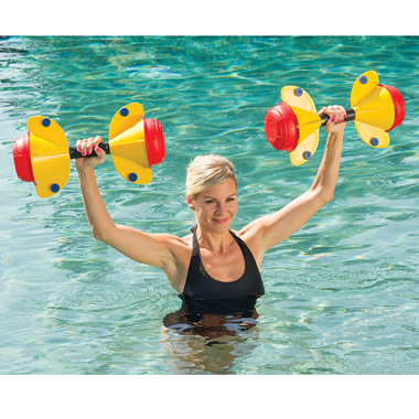 The Adjustable Aquaweights.