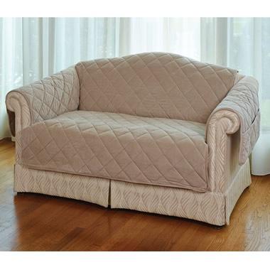 The Furniture Protecting Memory Foam Pet Covers (Loveseat Protector)