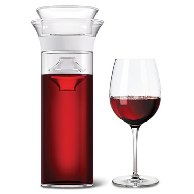 The Award Winning Wine Preserving Carafe - Holds red, white or rose wine