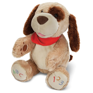 The ABC Singing Animated Plush Puppy