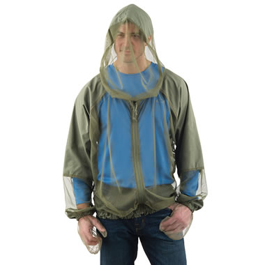 The Hooded Zip Up Mosquito Jacket.