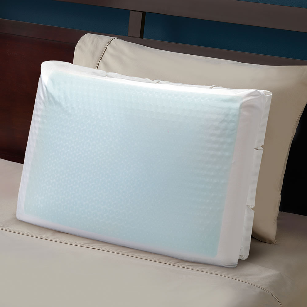 the cooling gel goosedown pillow