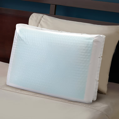 The Cooling Gel Goosedown Pillow.