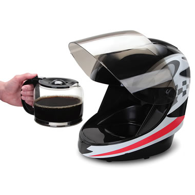 Off To The Races Coffee Maker Black
