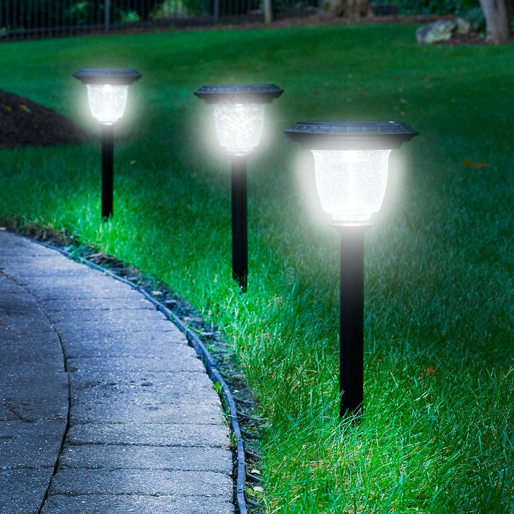solar garden path light garden inspiration. Black Bedroom Furniture Sets. Home Design Ideas