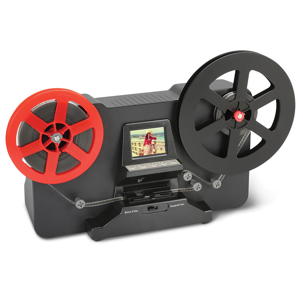 The Super 8 To Digital Video Converter - Hammacher Schlemmer