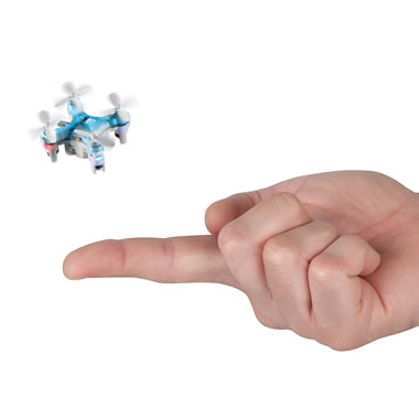 The World's Smallest Quadcopter