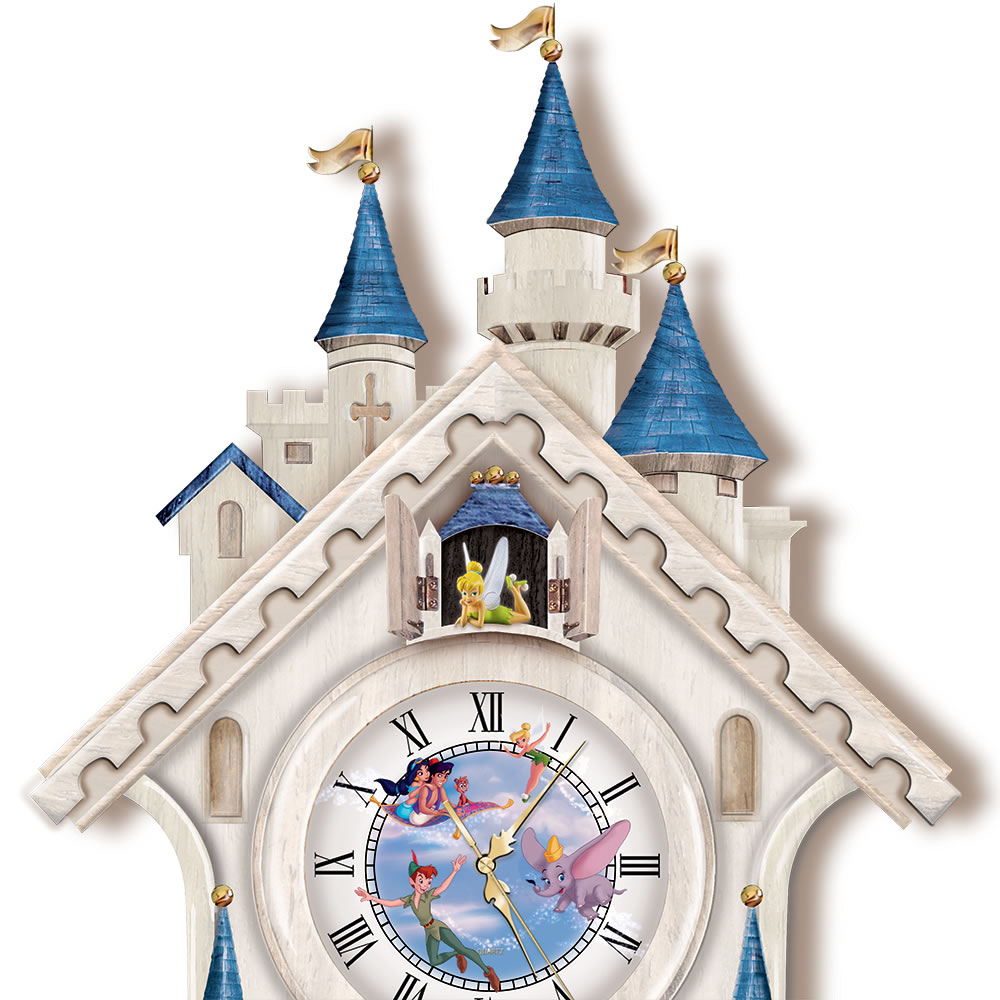 The happiest times disney cuckoo clock hammacher schlemmer the happiest times disney cuckoo clock amipublicfo Image collections