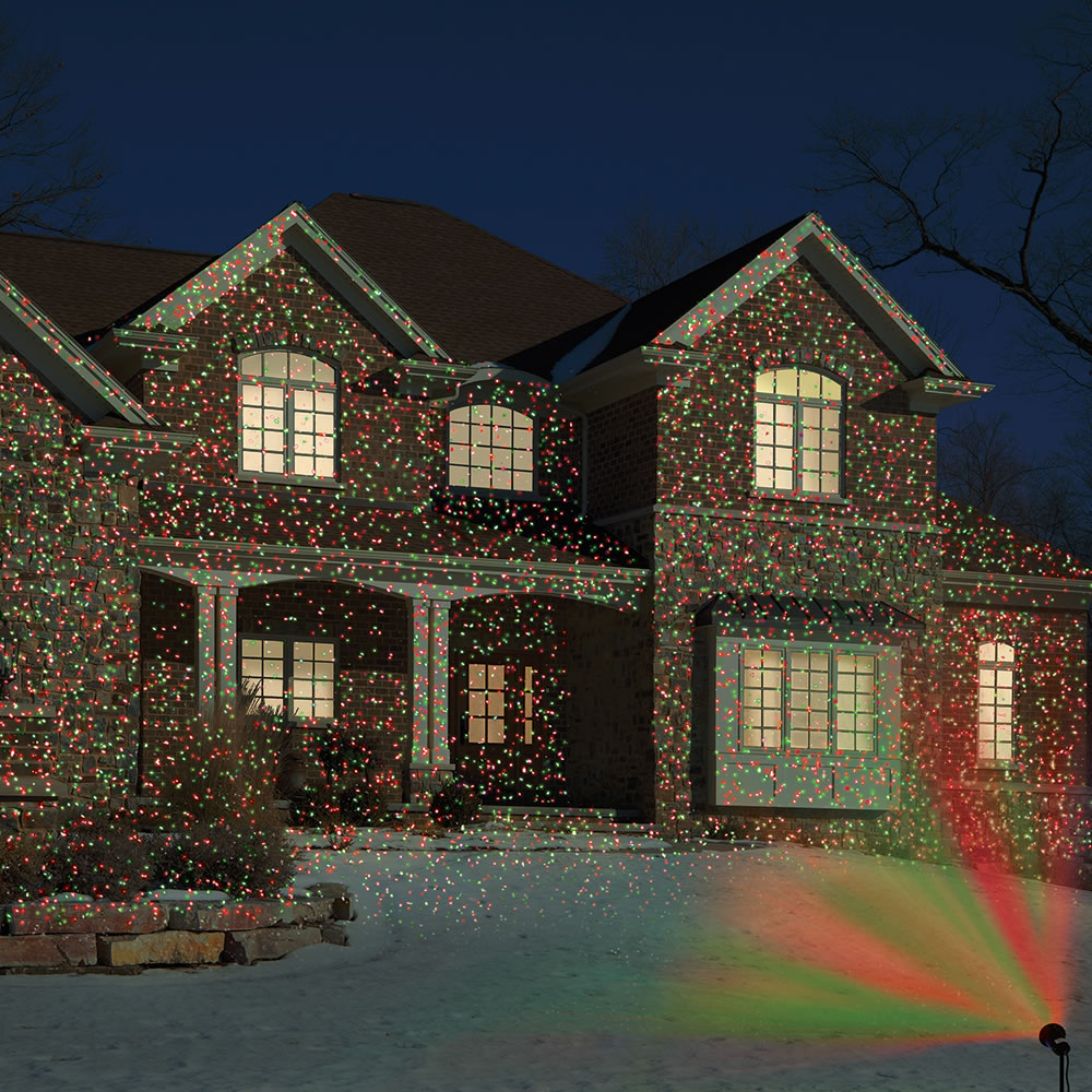 the virtual traditional christmas color lights - Christmas Motion Lights