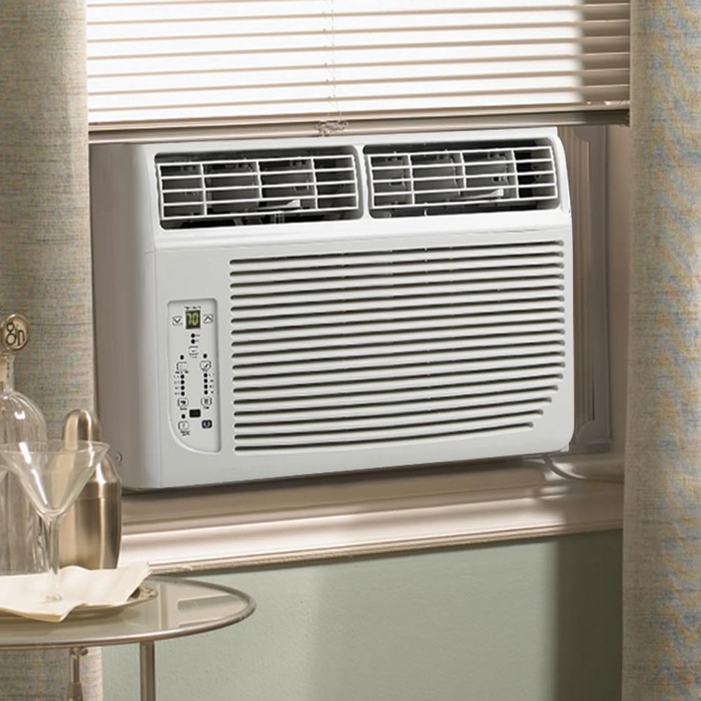 The Slim Profile Air Conditioner Hammacher Schlemmer
