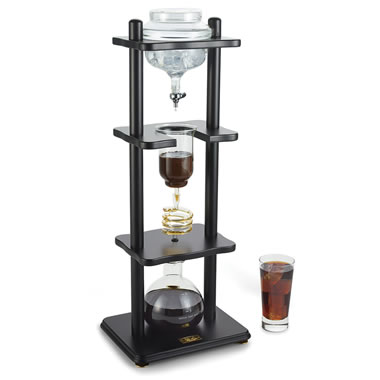 Slow Drip Cold Brew Coffee Tower Black