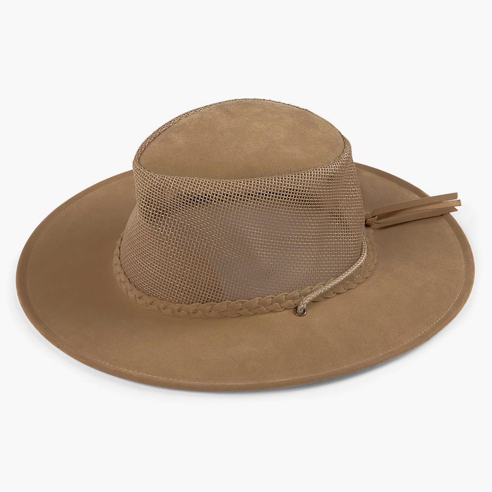 The Evaporative Cooling Hat - Hammacher Schlemmer