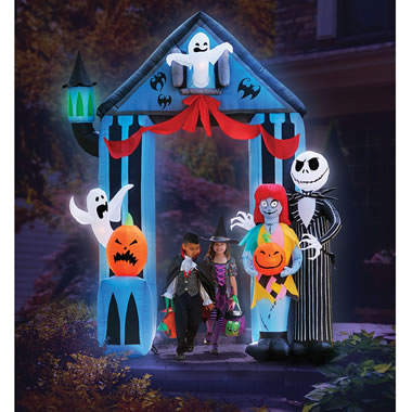 The 9' Inflatable Nightmare Before Christmas Portal