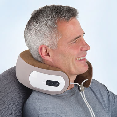 The Cordless Shiatsu Neck Massager