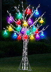 The 6' Ultrabright Ornament Tree