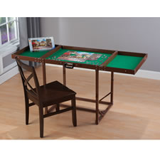 The Easy Fold And Store Puzzle Table