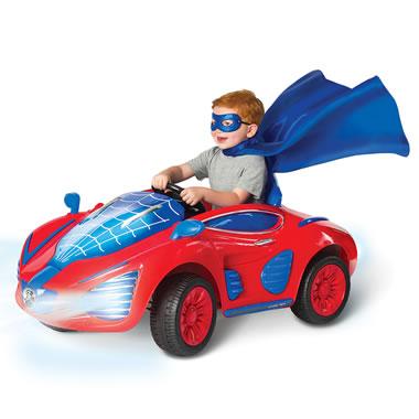 The Superhero's Sleek And Stealthy Arachnidmobile