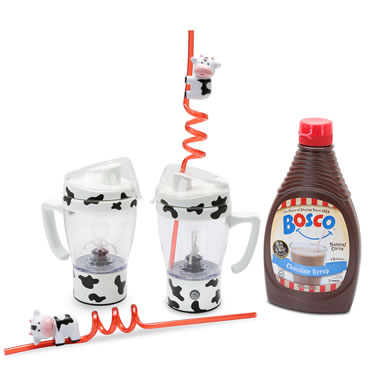 The Messless Chocolate Milk Mixing Kit