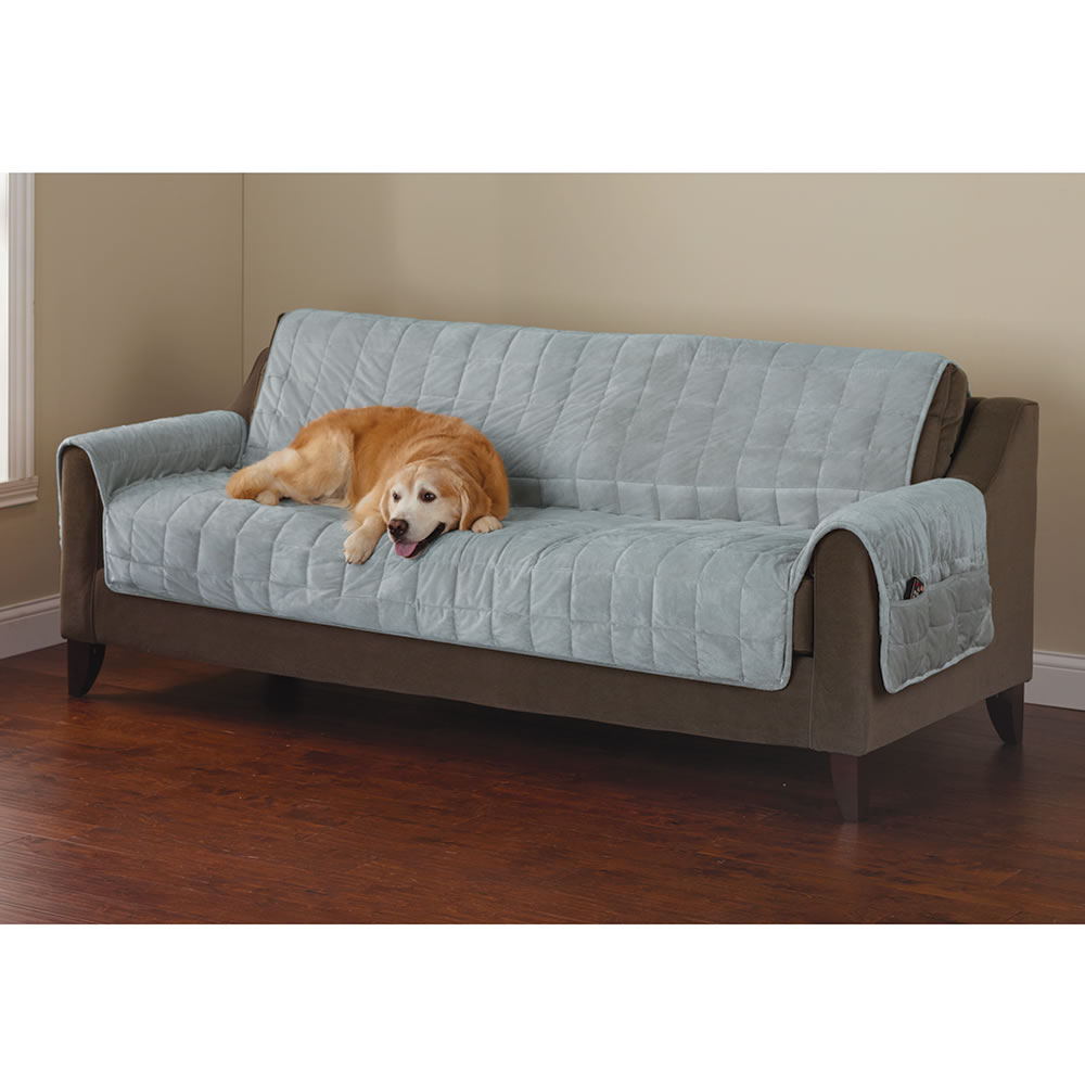 The Non-Slip Furniture Protecting Pet Covers - Hammacher ...