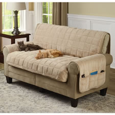 The Non-Slip Furniture Protecting Pet Covers (Loveseat)