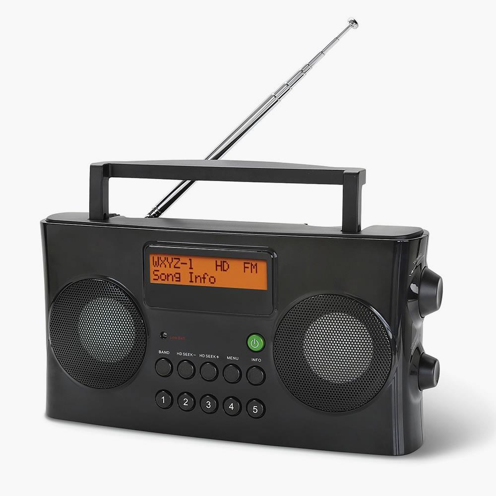 High Definition Portable Radio Hammacher Schlemmer