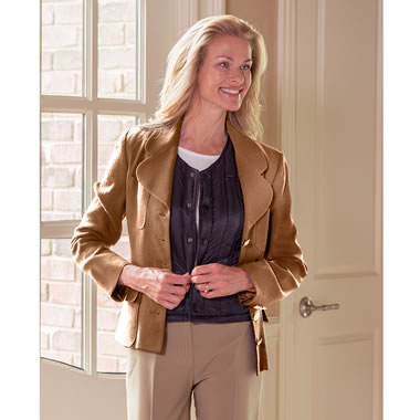 The Lady's Slim Fit Down Body Warmer