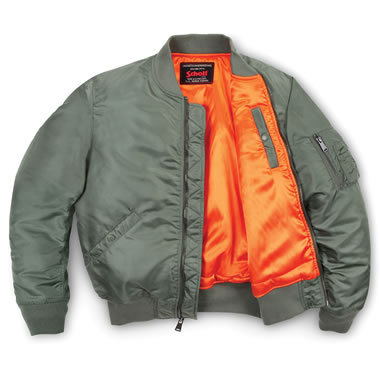 The Classic MA-1 Jet Jacket