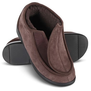 Wide Mouth Shearling Slipper Bro 36
