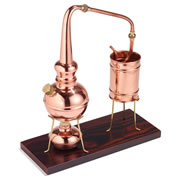 The Classic European Copper Distiller
